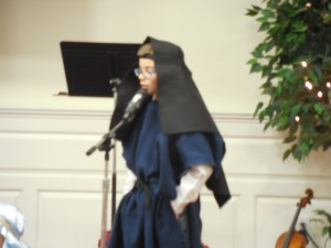 Joseph in the Christmas Pageant