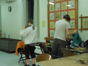 Fencers gear up