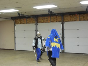 Sword and dagger fencing